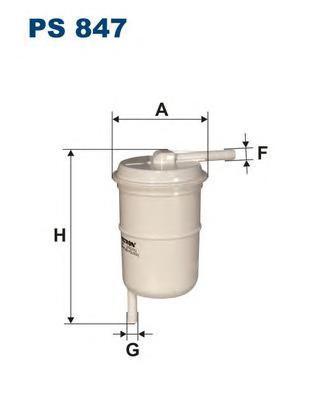 Фильтр топливный Filtron PS847PS847
