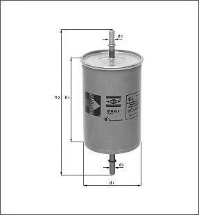 Фильтр топливный Mahle KL573KL573