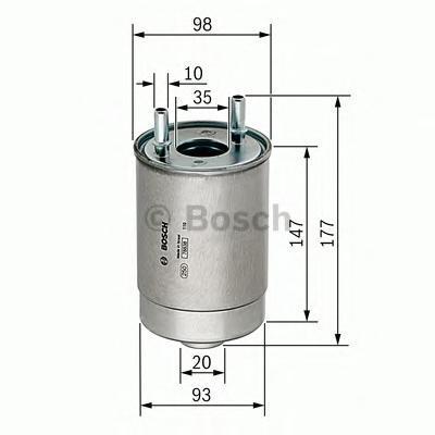 Фильтр топливный Bosch F026402067F026402067