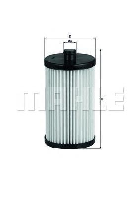 Фильтр топливный Mahle KX222DKX222D