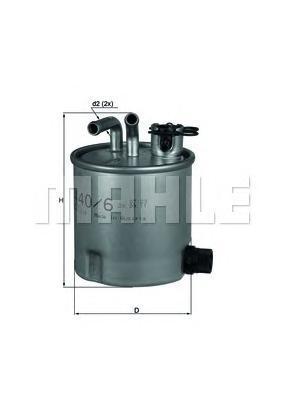 Фильтр топливный NISSAN: NAVARA 2.5 dCi/2.5 dCi 4WKL4406