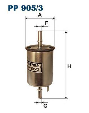 Фильтр топливный Filtron PP905/3PP905/3