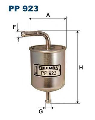 Фильтр топливный Filtron PP923PP923