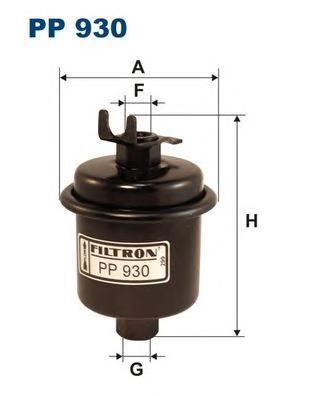 Фильтр топливный Filtron PP930PP930