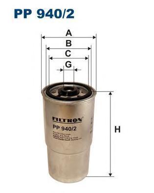 Фильтр топливный Filtron PP940/2PP940/2