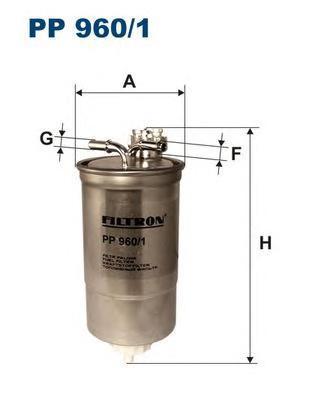 Фильтр топливный Filtron PP960/1PP960/1