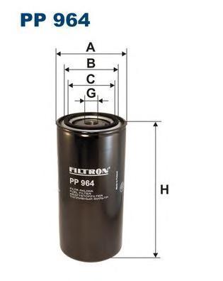 Фильтр топливный Filtron PP964PP964