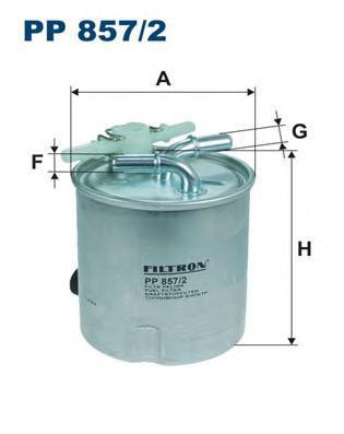 Фильтр топливный Filtron PP857/2PP857/2