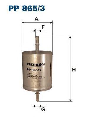 Фильтр топливный Filtron PP865/3PP865/3