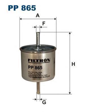 Фильтр топливный Filtron PP865PP865
