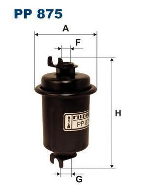 Фильтр топливный Filtron PP875PP875