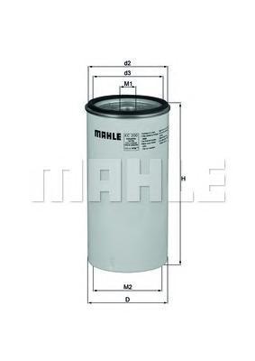 Фильтр топливный Mahle KC200KC200