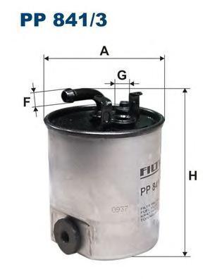 Фильтр топливный MB SPRINTER (901-904)/VITO (638) Mercedes A (W168), Sprinter 208-216, Sprinter 308-316, Sprinter 408-416, V (638/2), Vaneo (W414)PP8413