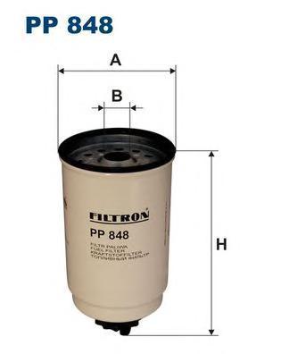 Фильтр топливный Filtron PP848PP848