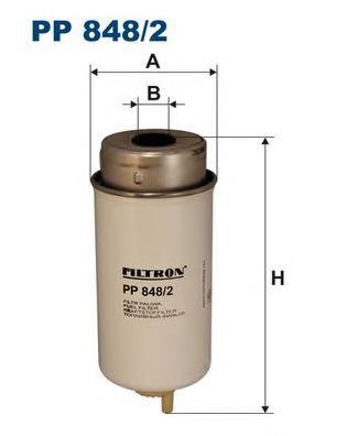 Фильтр топливный Filtron PP848/2PP848/2