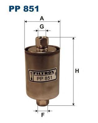 Фильтр топливный Filtron PP851PP851