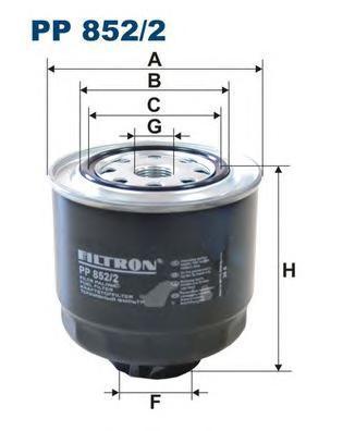 Фильтр топливный Filtron PP852/2PP852/2