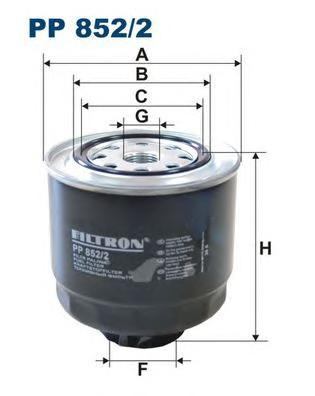 Фильтр топливный Mitsubishi L200 Mitsubishi L200PP8522