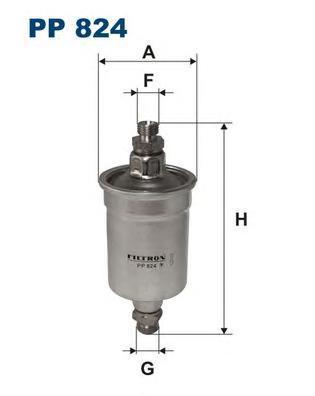 Фильтр топливный Filtron PP824PP824