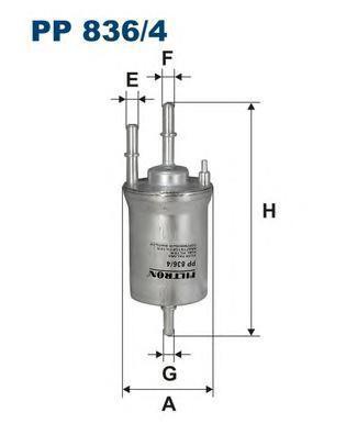 Фильтр топливный Filtron PP836/4PP836/4