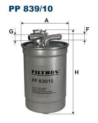 Фильтр топливный Filtron PP839/10PP839/10