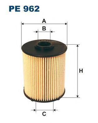 Фильтр топливный Filtron PE962PE962