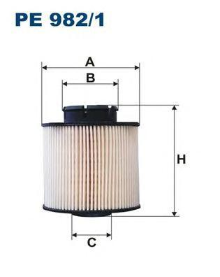 Фильтр топливный Filtron PE982/1