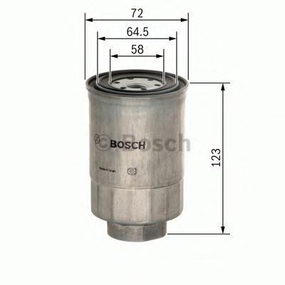 Фильтр топливный Bosch 14574344401457434440