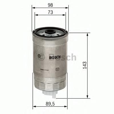 Фильтр топливный Bosch 14574344591457434459