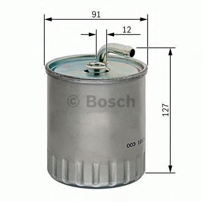 Фильтр топливный Bosch 14574344161457434416