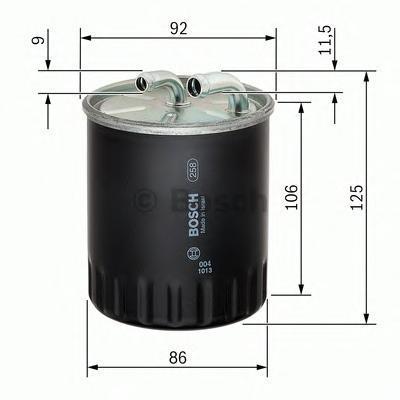 Фильтр топливный Bosch 14574344371457434437