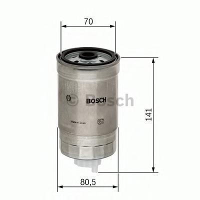 Фильтр топливный Bosch 14574345111457434511