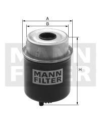 Фильтр топливный Mann-Filter. WK8137WK8137