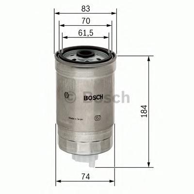 Фильтр топливный Bosch 14574342931457434293