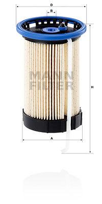 Фильтр топливный Mann-Filter PU8008/1PU8008/1