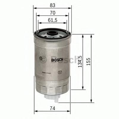 Фильтр топливный Bosch 14574341051457434105