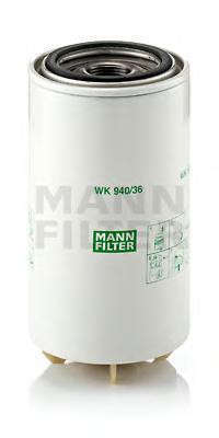 Фильтр топливный Mann-Filter WK940/36xWK940/36x