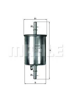 Фильтр топливный Mahle KL470KL470