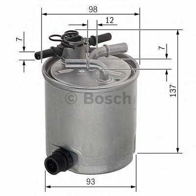 Фильтр топливный Bosch F026402096F026402096