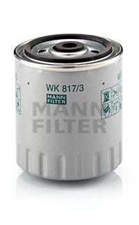 Фильтр топливный Mann-Filter WK817/3XWK817/3X