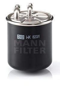 Топливный фильтр Mann-Filter WK8201WK8201Фильтр топливный для ДВС а м Mann-Filter. WK8201