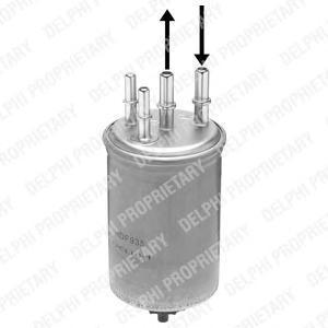 Фильтр топливный DELPHI HDF935HDF935