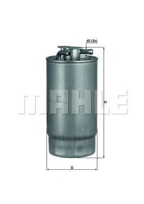 Фильтр топливопроводаKL1601
