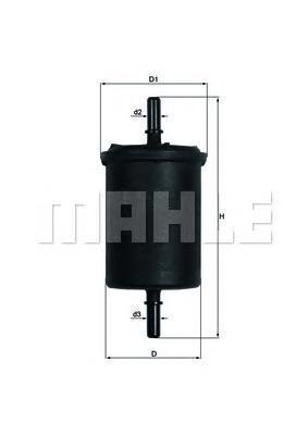 Фильтр топливный Mahle KL248KL248