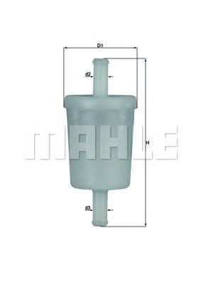 Фильтр топливный Mahle KL260OFKL260OF