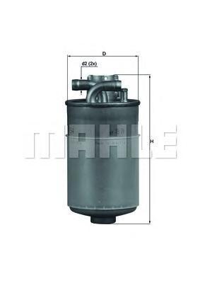 Фильтр топливный Mahle KL154KL154