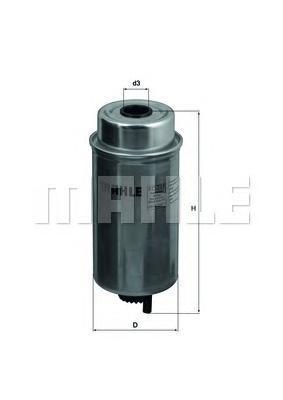 Фильтр топливный Mahle KC227KC227