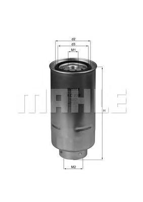 Фильтр топливный Mahle KC239KC239