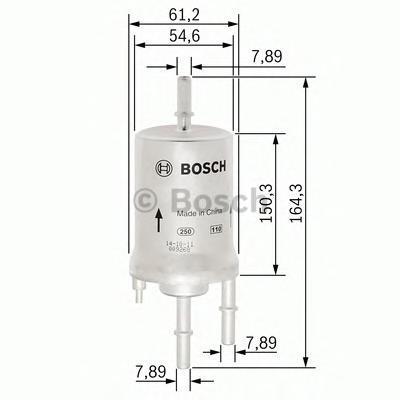 Фильтр топливный Bosch F026403006F026403006