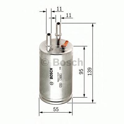 Фильтр топливный Bosch F026403014F026403014